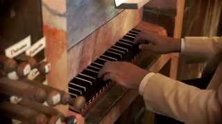 preview picture of video 'Domenico Zipoli: All' Offertorio. Arturo Barba, Villar de Cañas (Julián de la Orden historic organ)'
