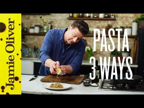 Super Quick Pasta 3 ways   Jamie Oliver