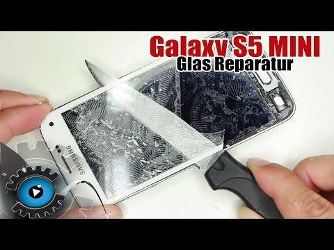 Samsung Galaxy S5 Mini Glas Wechseln Tauschen unter 20€ Reparieren [Deutsch]