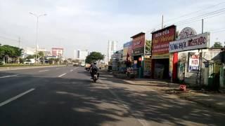 Đi ngang thị xã Phú Mỹ