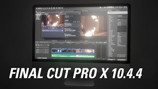 Final Cut Pro X 10.4.4 New Features