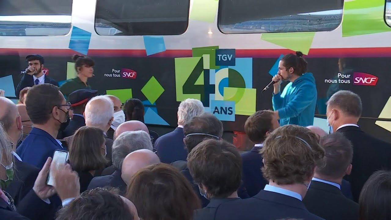 Pour les 40 ans du TGV, des artistes chantent sur un remix du jingle SNCF