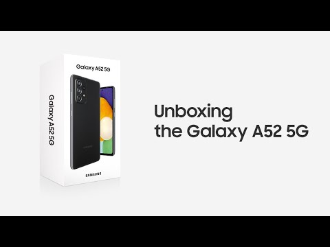 Here's what's inside Galaxy A52 and Galaxy A72 boxes