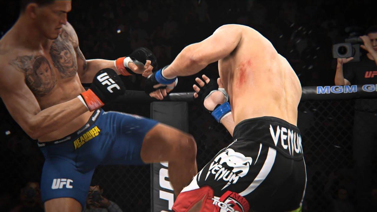 Neuer EA SPORTS UFC Trailer steigt ins Oktagon