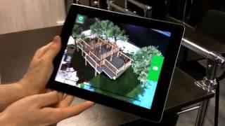 Дополненная реальность (AR -  Augmented Reality). Пример для недвижимости.