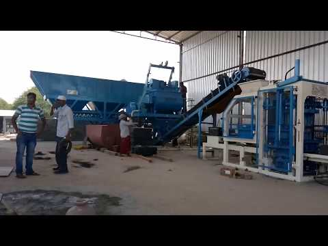 High Technology Concrete Block Making Machine