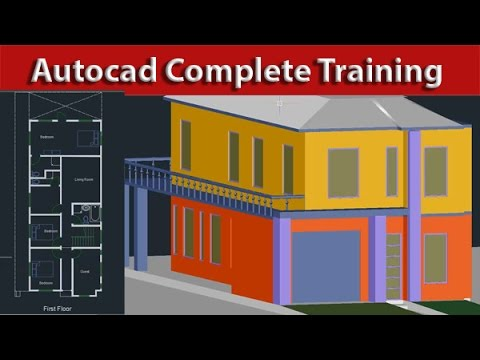 AutoCAD Tutorial Course Complete Beginner to Advance ( Learn ...