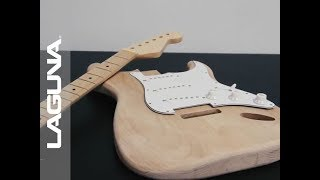 CNC Cutting a Custom Guitar