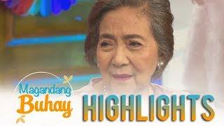 Magandang Buhay: Momshie Eva Cariño shares a funny story about Mariel