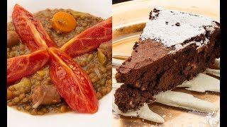 Lentejas Con Txistorra - Bizcocho De Chocolate - Karlos Arguiñano En Tu Cocina