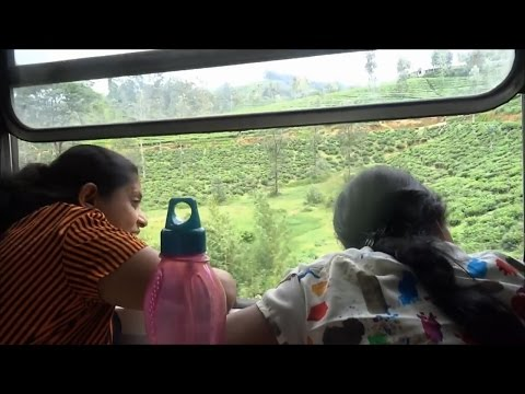 Ella to Kandy by Train  Sri Lanka  July 2016