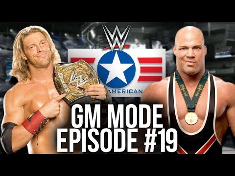 WWE SVR 2007 GM Mode Episode #19 - THE GREAT AMERICAN BASH!
