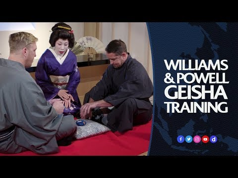 How to be a Geisha with Shane Williams and Andy Powell