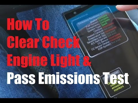 How to Clear Check Engine Light and Pass Emissions Test Under $20