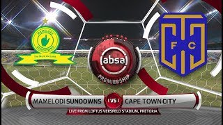 Absa Premiership 2018/19 | Mamelodi Sundowns Vs Cape Town City
