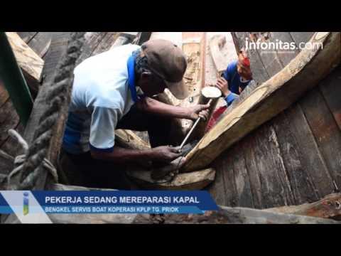 Mengintip Aktivitas Bengkel Servis Boat Koperasi KPLP TG.Priok