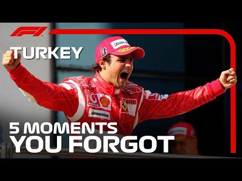 F1 トルコGP 過去のトルコGPで忘れられない名場面を集めたダイジェスト動画