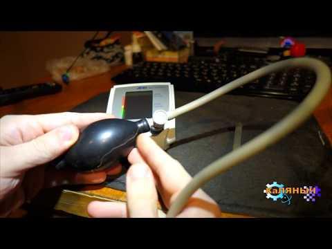 ремонт манжеты тонометра своими руками