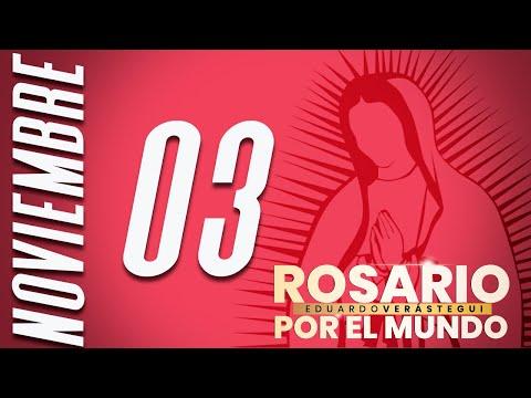 ¡Rosario por el mundo! 3 de Noviembre, 2020.