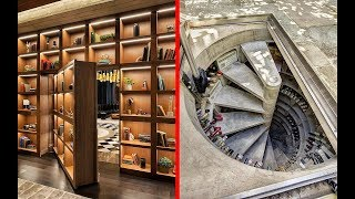 INCREDIBLE Hidden Rooms and AWESOME Secret Furniture !