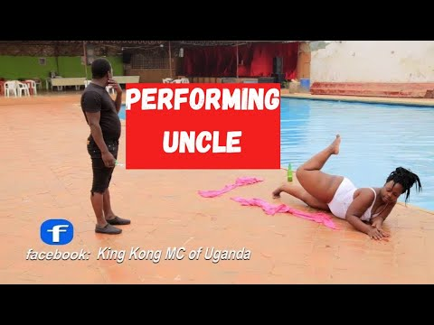 KING KONG MC OF UGANDA DANCING TO  uncle By ID TWINS New Ugandan Dance Comedy 2017 HD