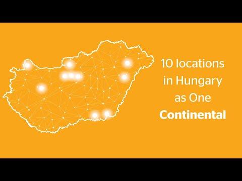 Continental  - Continental Magyarországon