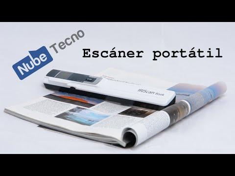 ¿Cómo trabaja un escáner portátil?