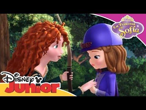 La Princesa Sofía: Momentos Mágicos - Mérida ayuda a Sofía a ser valiente | Disney Junior Oficial