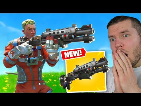 die *NEUE* TACTICAL SCHROTFLINTE in Fortnite! (видео)