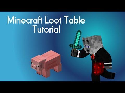 Minecraft Loot Table Tutorial