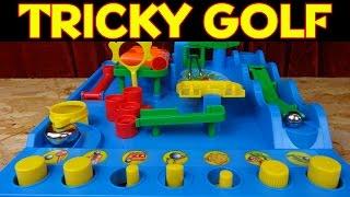 """""""TOMY 7070 TRICKY GOLF"""" -Spielspaß für Groß und Klein"""