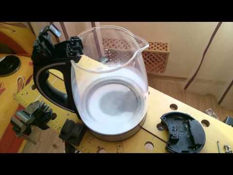 Ремонт чайника Scarlett 1227 - Сломалась петля крышки