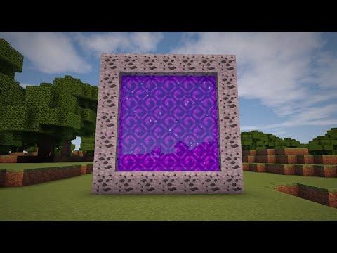 Minecraft - How to make a Portal to SPACE!!! (No mods)