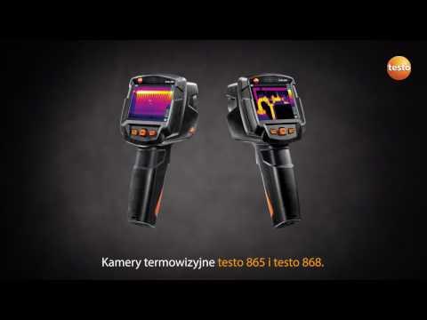 Kamery termowizyjne testo 865-868