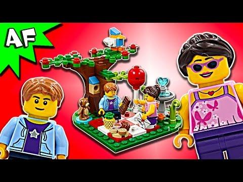 Vidéo LEGO Saisonnier 40236 : Pique-nique romantique de la Saint-Valentin