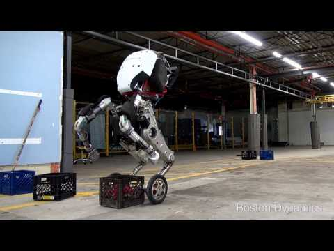 Jeżdżący robocik z Boston Dynamics