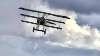 Touch and Go?  In a Real Fokker Triplane?