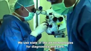 Formación de los Doctores Sancho - Centro Oftalmológico del Hospital Haddasah de Jerusalem, Israel - Ligia Sancho