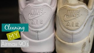 Sneaker Prep Cleaning With Easy Cleaner For Painting | My Very FIRST Customs sneak peek | ASLYARTR