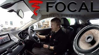 2016 Mazda CX-3 + Focal PS-165fx + Focal PC-165f, Fully Sound Deadened Part 2!