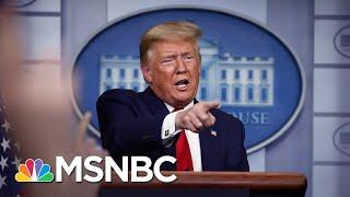 Has Trump Replaced His Rallies With Coronavirus Briefings?   MSNBC
