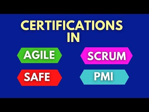 Agile, Scrum and SAFe Certifications (Agile Certification, Scrum ...
