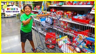 Ryan goes undercover at Walmart to hunt for Ryan's World Toys!!!!