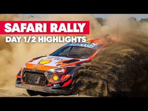 トラブル続出?!WRC 2021 WRC第6戦ラリー・ケニア Day1のハイライト動画