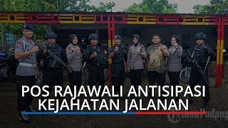Antisipasi Kejahatan Jalanan, Satbrimob Polda Sumbar Patroli dan Sebar 60 Personel