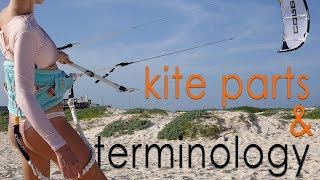 #5 Kiteboarding Beginner – Kite parts and terminology
