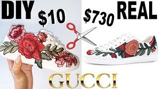 DIY GUCCI LOOKS FOR LESS!