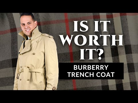 Is It Worth It? - The Burberry  Trench Coat - Review by Gentleman's Gazette