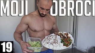 FULL DAY OF EATING - Svi moji obroci u toku dana.