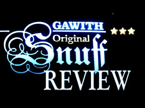 Nasal Snuff Review Poschl Gawith Original (Apricot